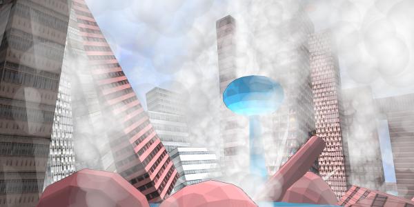 Battle an array of procedurally-generated cities